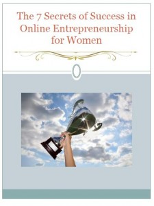 Cover to 7 Secrets to Female Entrepreneurship Online